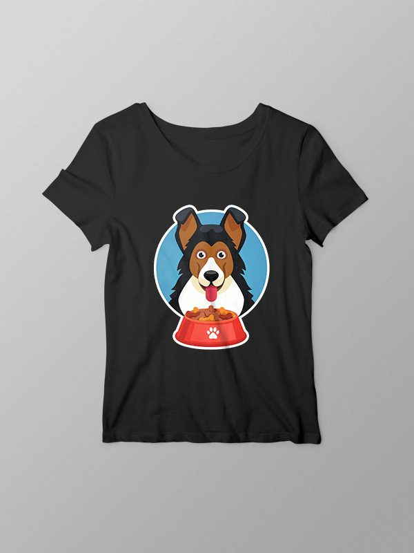 Graphic Dog – Women Tshirt