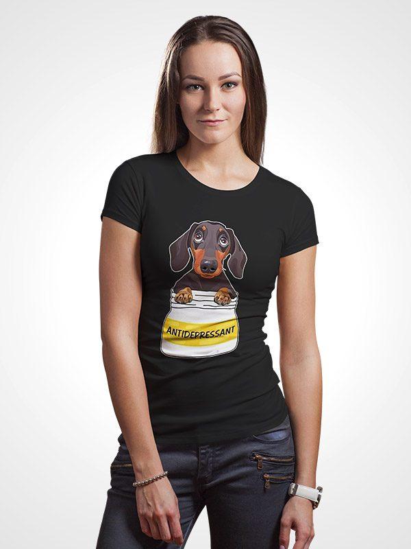 Anti Depressant – Women Tshirt