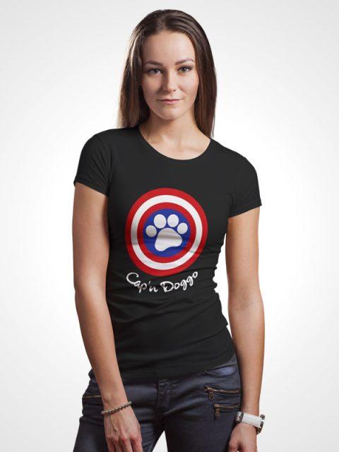 Cap'n Doggo – Women Tshirt
