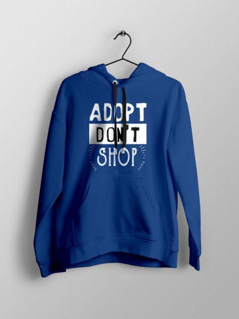 Adopt Don't Shop- Unisex Hoodie