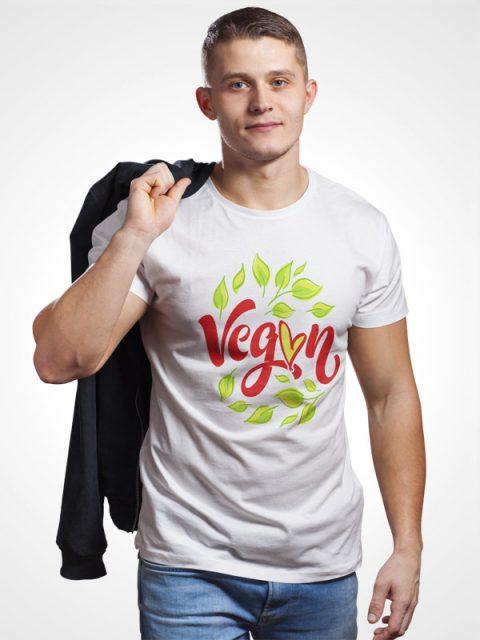 Vegan Leaf – Vegan Tshirt
