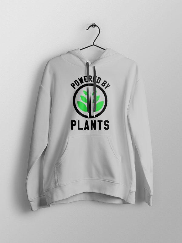 Powered By Plants 3- Unisex Hoodie