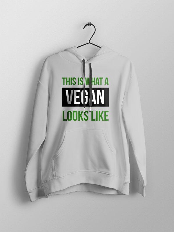 Vegan Looks Like – Unisex Hoodie