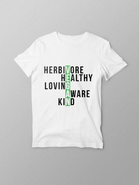 Herbivore – Vegan Tshirt
