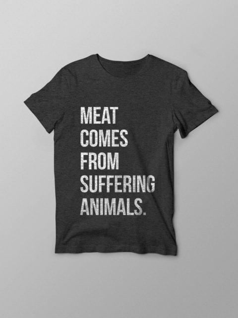 Suffering Animals – Vegan Tshirt