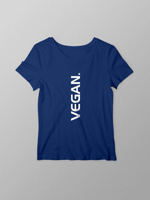 Vegan Vertical – Women Tshirt