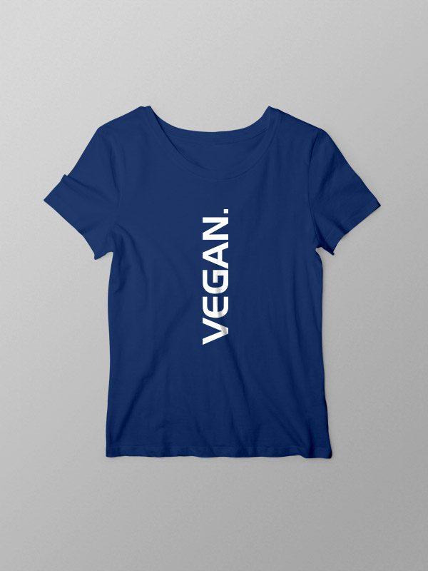 Vegan Vertical – Women Tshirt
