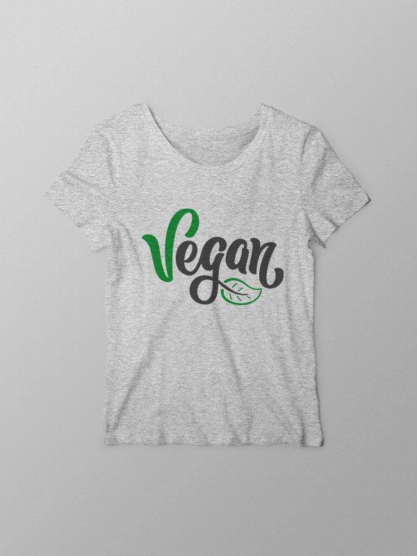 Vegan for Everything – Grey Women Tshirt