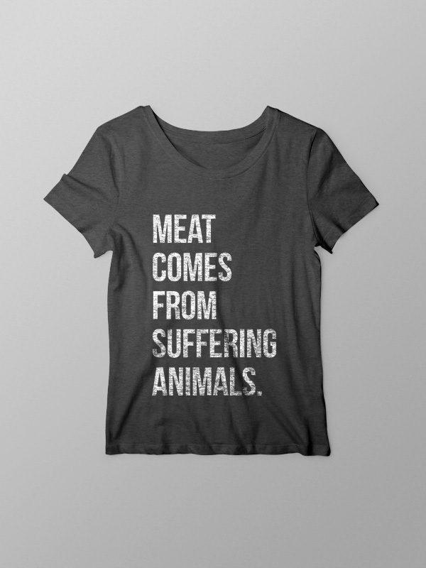 Suffering Animals – Women Tshirt