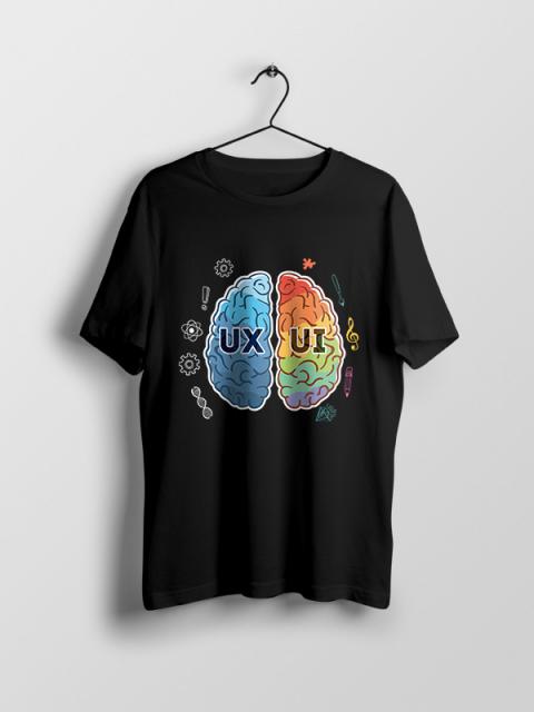 UX Vs UI – Unisex Tshirt
