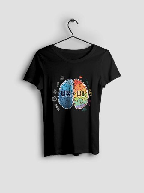 UX Vs UI – Women Tshirt