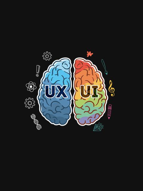 UX Vs UI – Unisex Hoodie