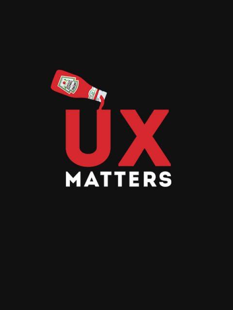 UX Matters – Unisex Tshirt