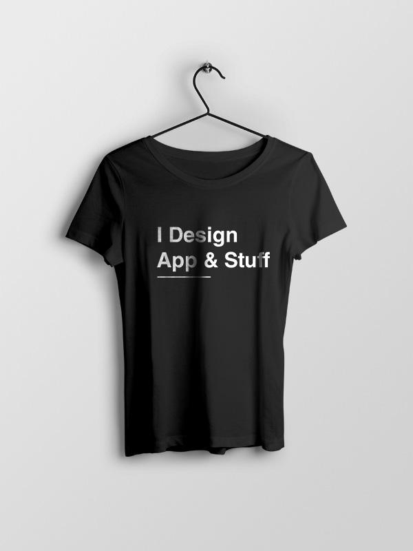App & Stuff –  Women Tshirt