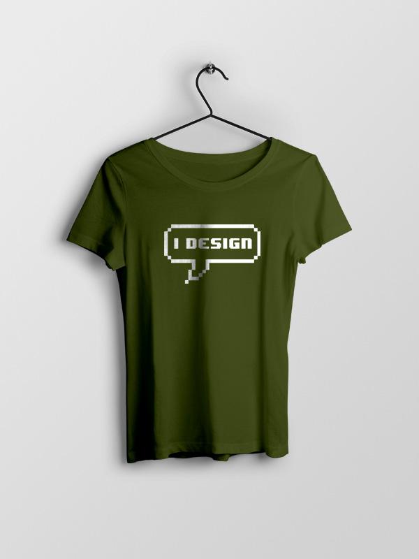 I Design – Women Tshirt