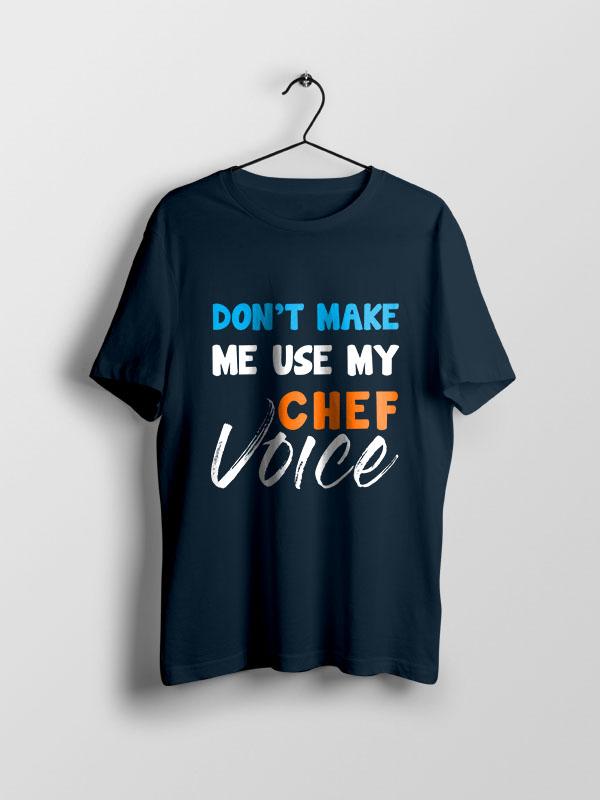 Chef Voice – Unisex Tshirt