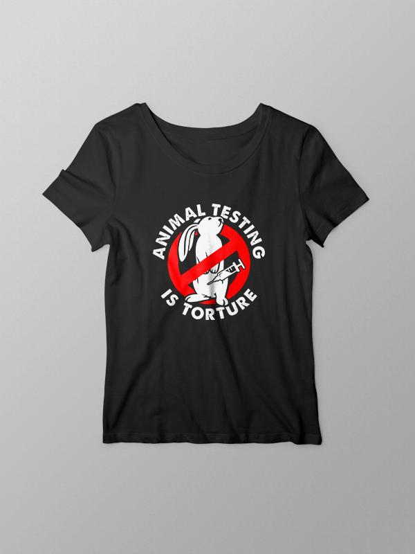 No Animal Testing – Women Tshirt