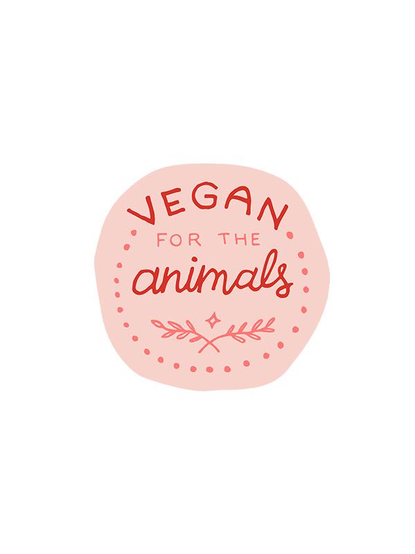 Vegan for the Animals – Vegan Tshirt