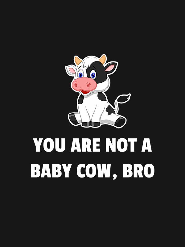 Baby Cow – Women Tshirt