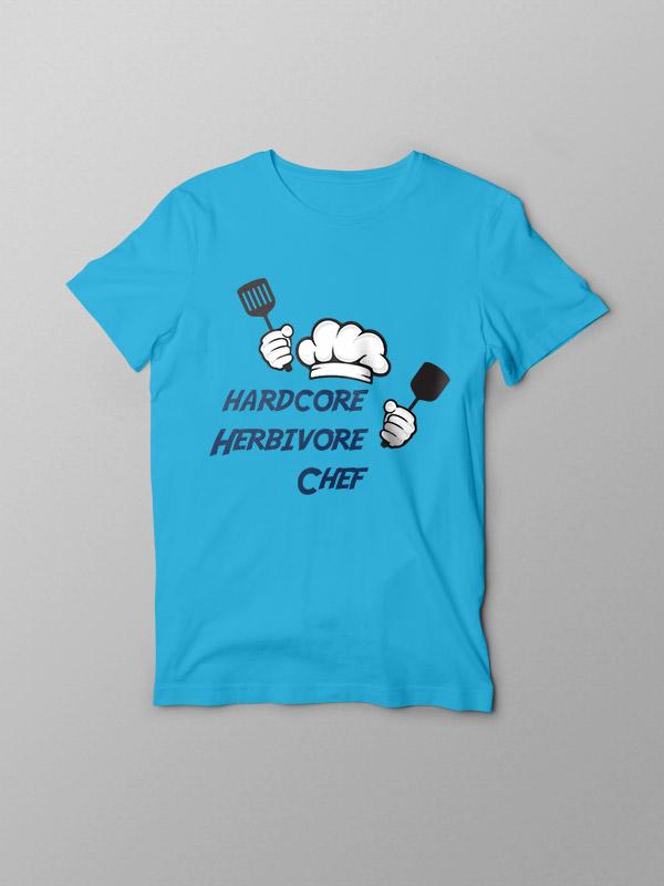 Hardcore Herbivore Chef – Vegan Tshirt
