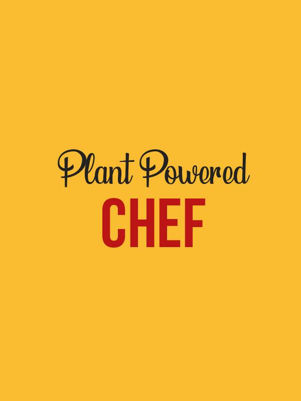 Plant Powered Chef – Women Tshirt