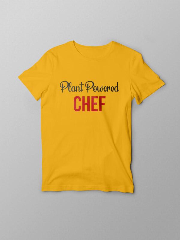 Plant Powered Chef – Vegan Tshirt
