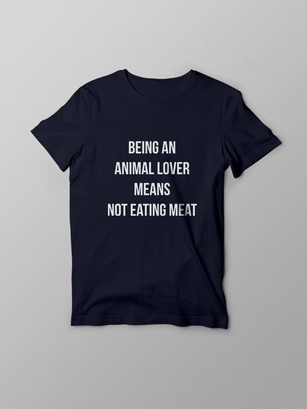 Animal Lover – Vegan Tshirt
