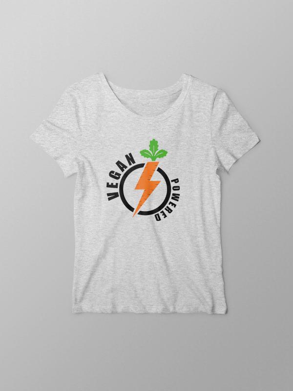Vegan Power – Women Tshirt