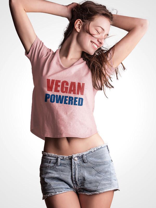Vegan Powered – Crop Top