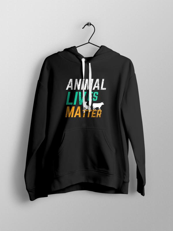 Animals Live Matter – Unisex Hoodie