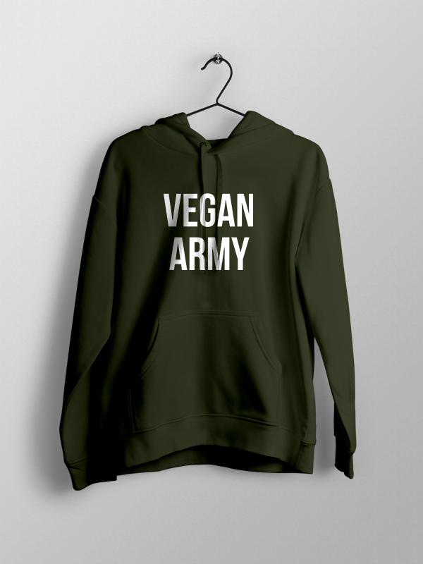 Vegan Army – Unisex Hoodie
