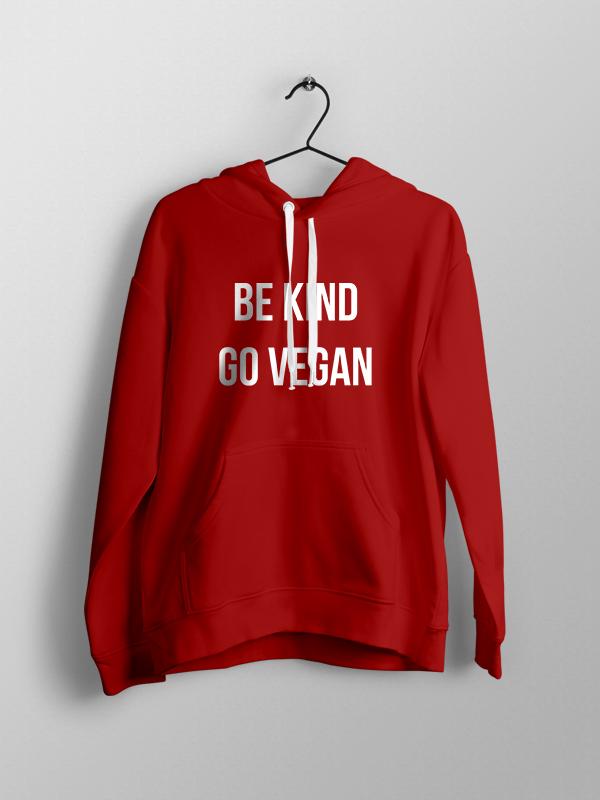 Be Kind – Red Unisex Hoodie