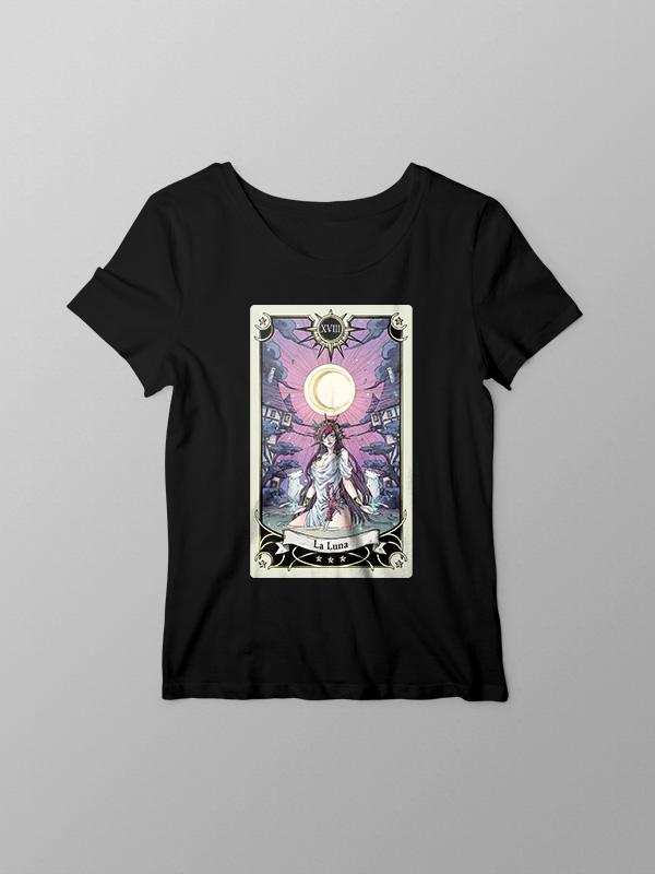Tarot La Luna – Women Tshirt