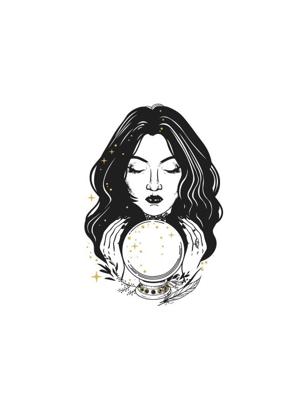 Tarot Lady – Women Tshirt