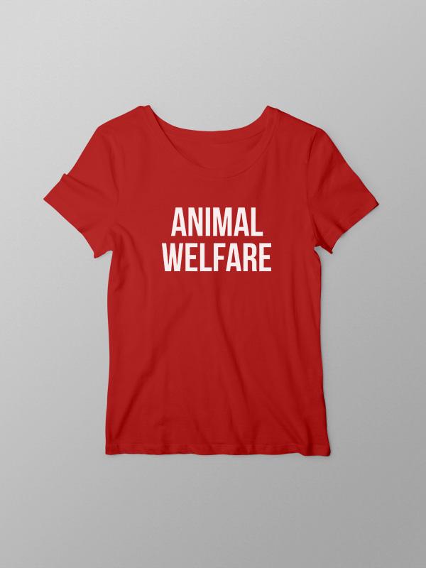 Animal Welfare – Women Tshirt