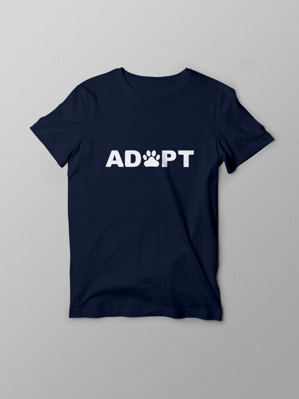 Adopt – Vegan Tshirt