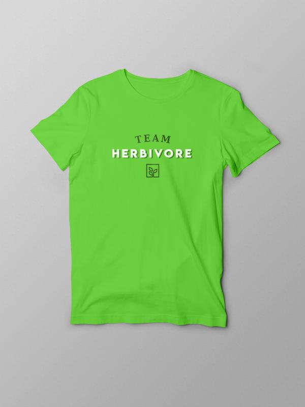 Team Herbivore – GreenTshirt