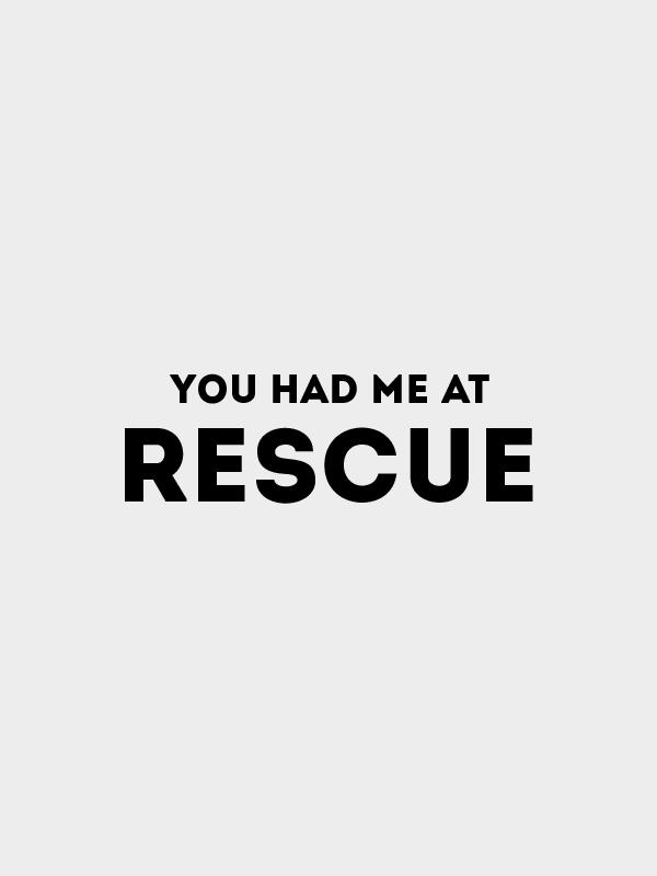 Had me at Rescue – Crop Top