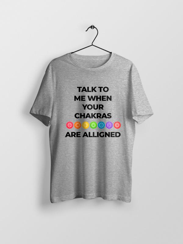 Chakras are Alligned – Unisex Tshirt