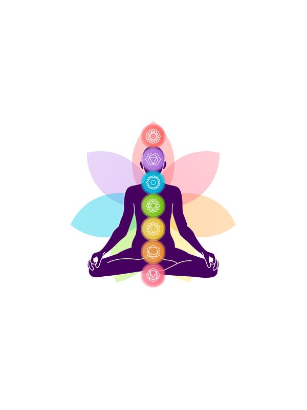 Yoga Chakras – Women Tshirt