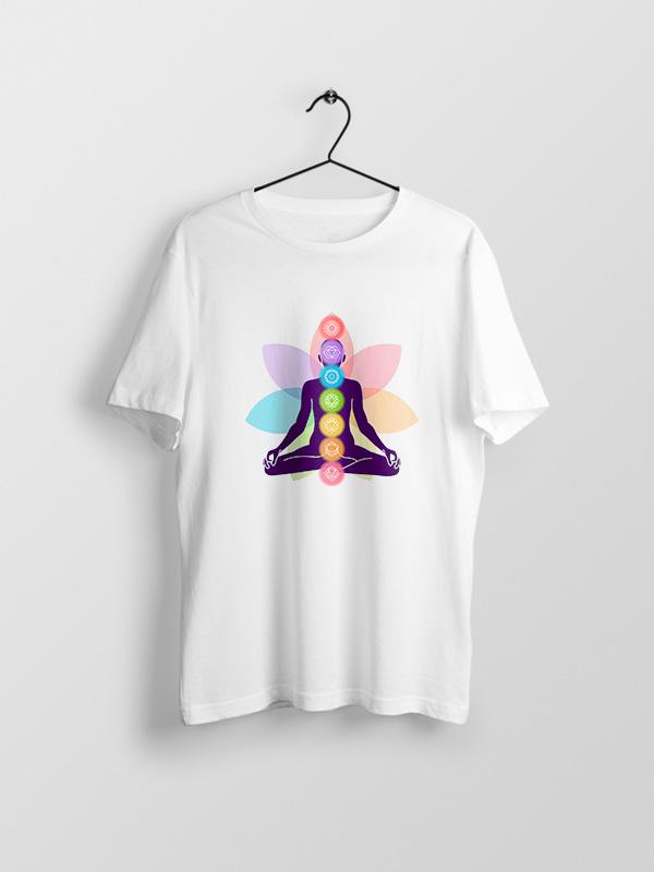 Yoga Chakras – Unisex Tshirt