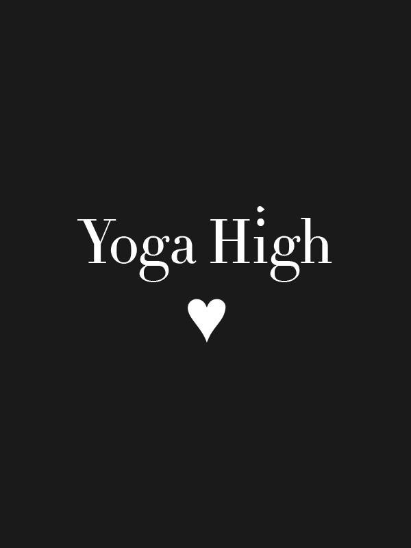 Yoga High – Women Tshirt