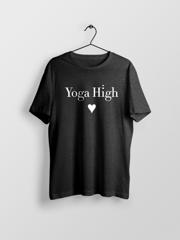 Yoga high – Unisex Tshirt