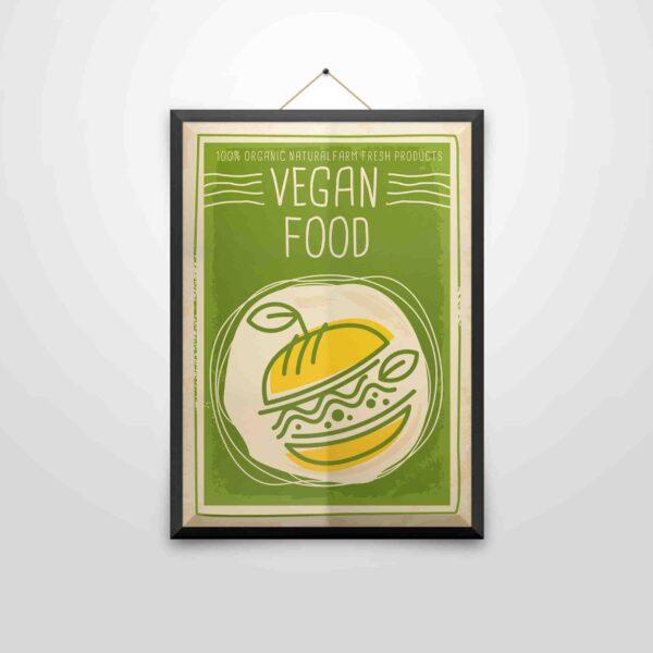 Vegan Food – Poster