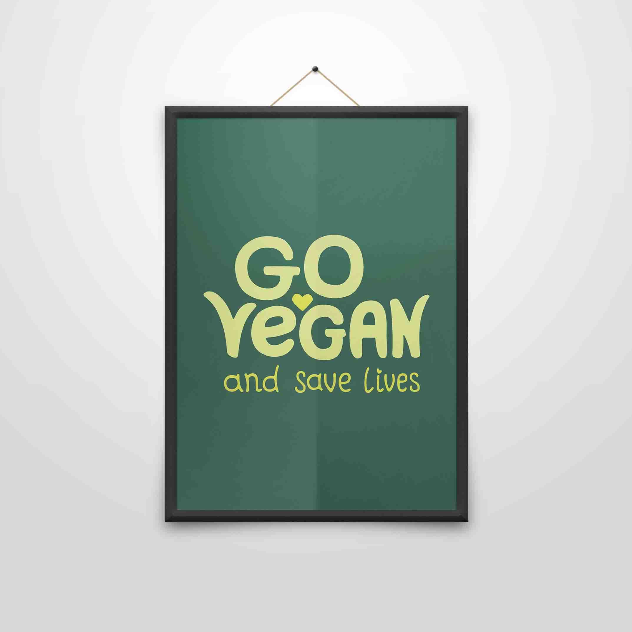 Go Vegan – Poster