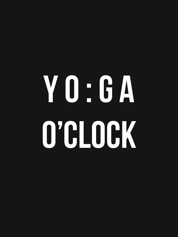 Yoga O Clock – Women Tshirt