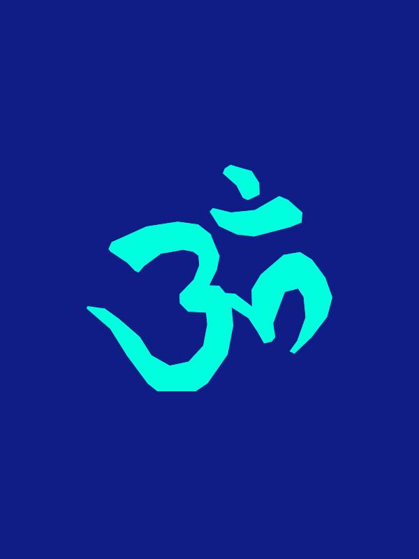 Aum symbol- Women Tshirt