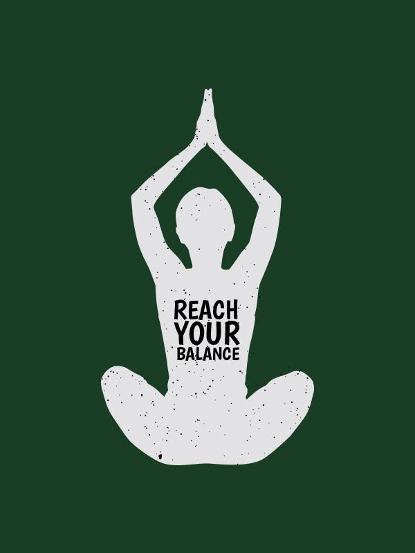 Reach your Balance – Women Tshirt