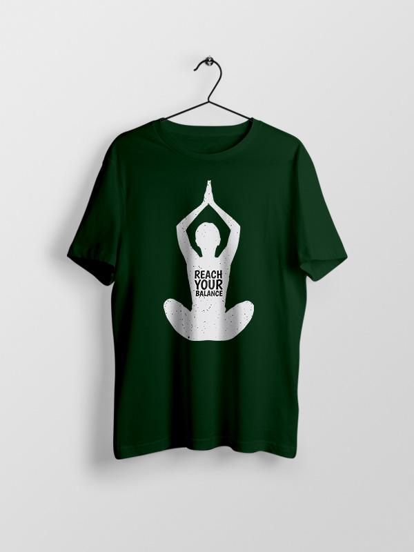 Reach your Balance- Unisex Tshirt