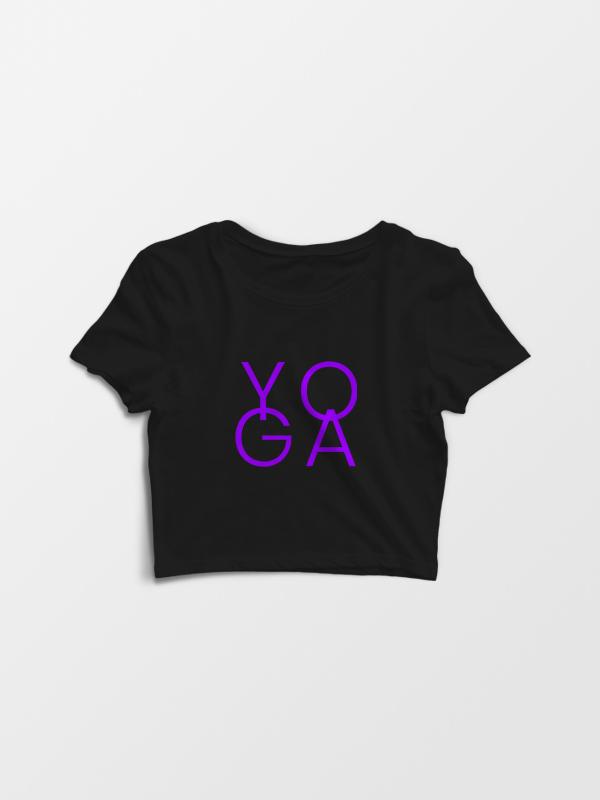 Yoga Pink – Crop Top